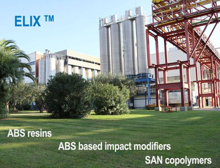 ELIX Polymers, S.L. - ABS resins - ABS based impact modifiers - SAN copolymers