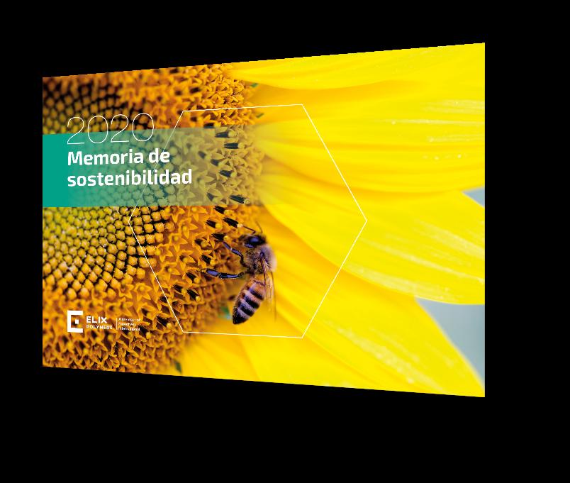 Ya está disponible nuestra<br><strong>Memoria de<br>Sostenibilidad 2020</strong>