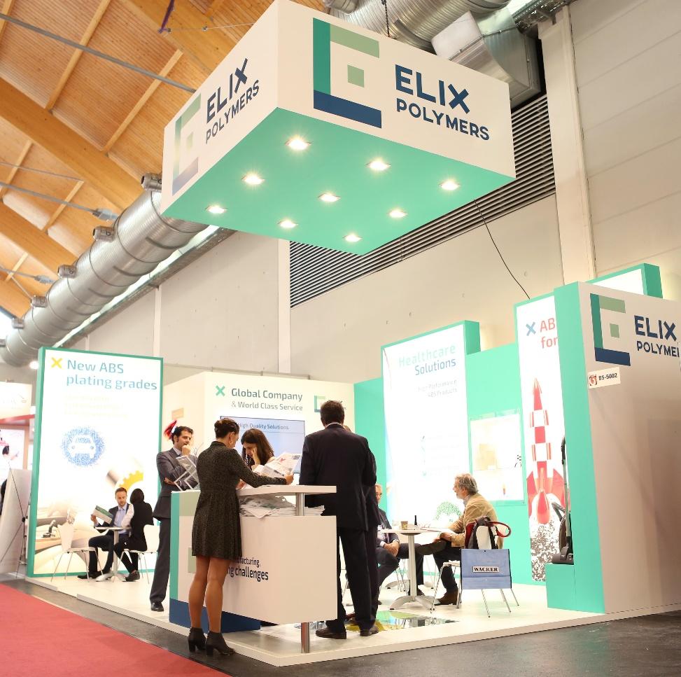 ELIX Polymers últimas innovaciones materiales mercados clave Fakuma 2018