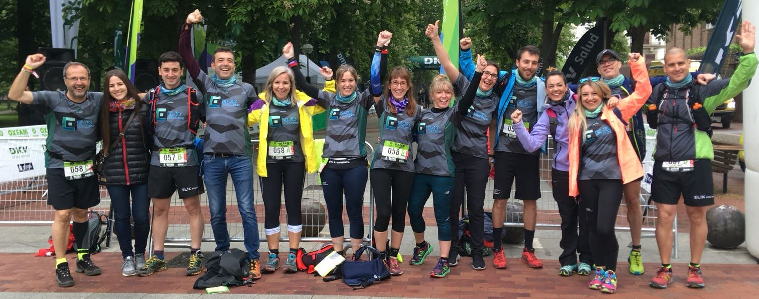 Two teams from ELIX Polymers participated in the Trailwalker 2018