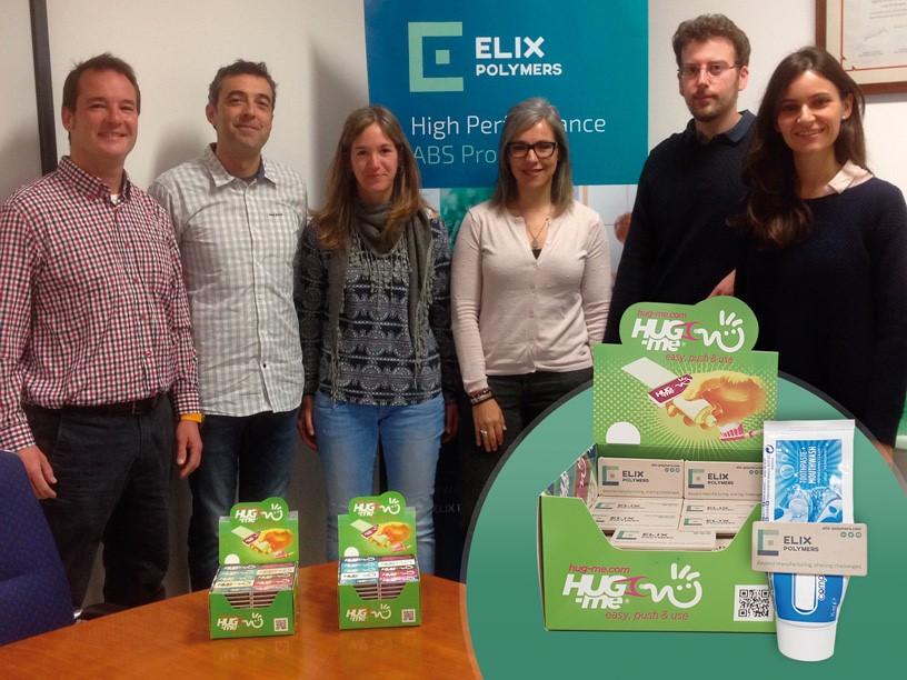 ELIX Polymers colabora con la empresa Hug-me Group con su cartera de productos sostenibles