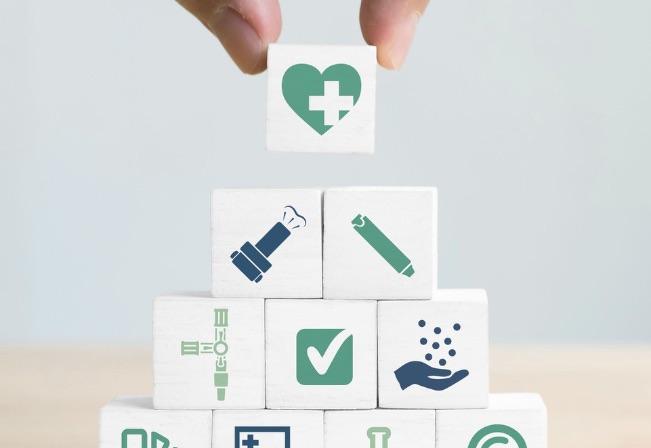 materiales ABS precoloreados para el sector médico