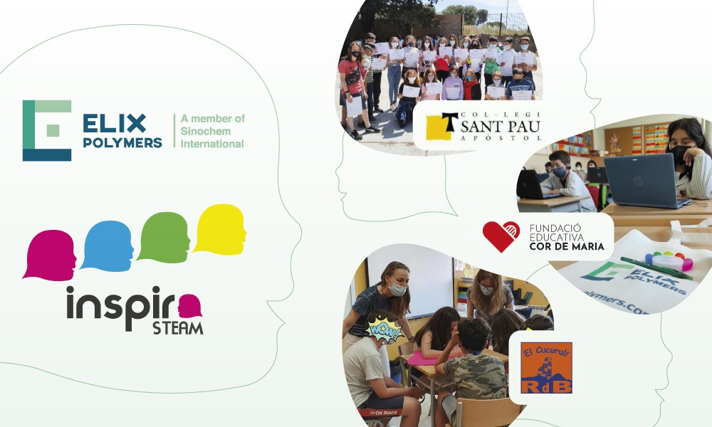 ELIX Polymers participates Inspira STEAM project encourage girls scientific-technological careers