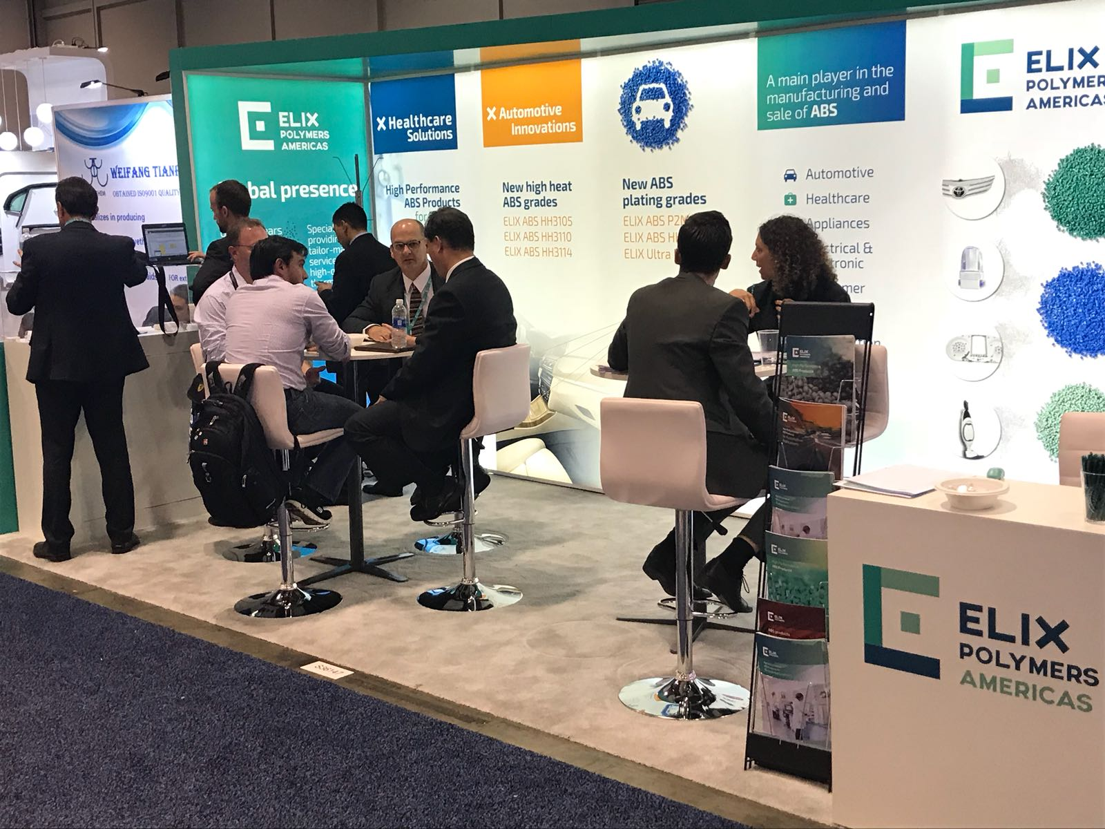 ELIX POLYMERS makes its debut at the NPE Show 2018