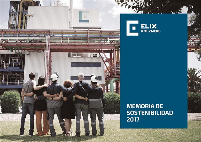 ELIX Polymers memoria sostenibilidad 2017 equipo humano éxito