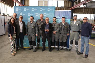 ELIX Polymers entrega el Premio de Seguridad a la empresa Siemsa Industria como mejor empresa de servicios 2017