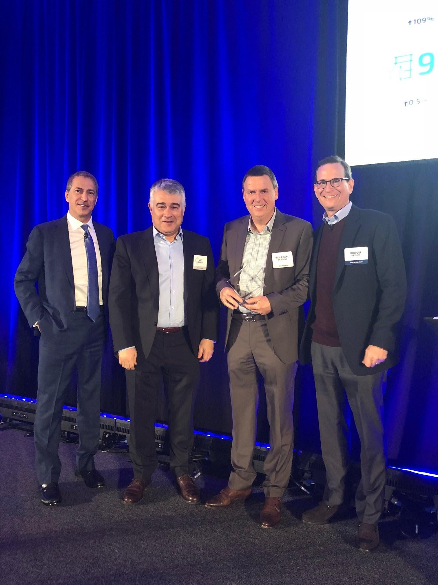 """ELIX Polymers recibe el premio """"2017 ESG EXCELLENCE AWARD"""" (Responsabilidad Social, Medioambiental y Gobierno Corporativo)"""